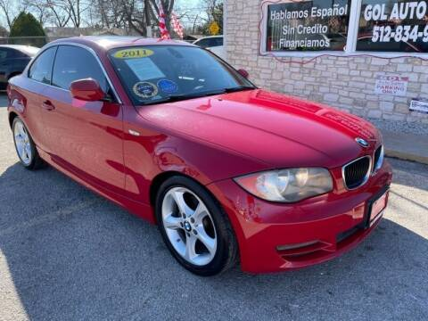 2011 BMW 1 Series for sale at GOL Auto Group in Austin TX
