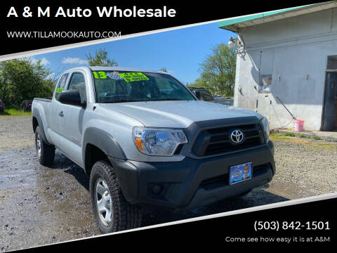 2013 Toyota Tacoma for sale at A & M Auto Wholesale in Tillamook OR