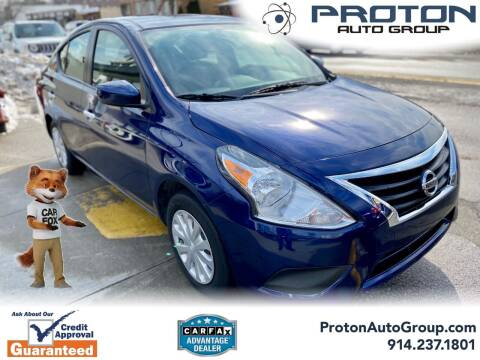 2019 Nissan Versa for sale at Proton Auto Group in Yonkers NY