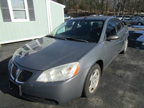 2008 Pontiac G6 for sale at Route 12 Auto Sales in Leominster MA