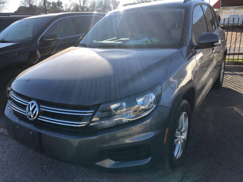 2016 Volkswagen Tiguan for sale at Auto Access in Irving TX