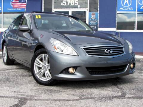 2011 Infiniti G37 Sedan for sale at Orlando Auto Connect in Orlando FL
