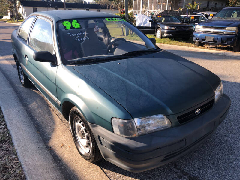 1996 Toyota Tercel for sale at Castagna Auto Sales LLC in Saint Augustine FL