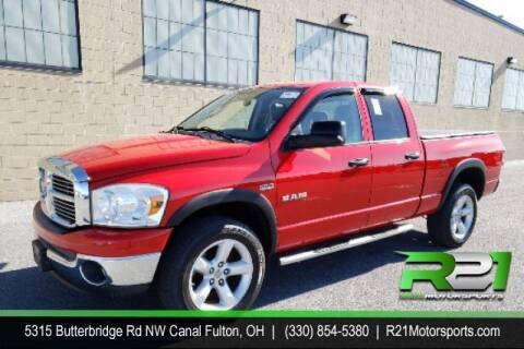 2008 Dodge Ram Pickup 1500 for sale at Route 21 Auto Sales in Canal Fulton OH