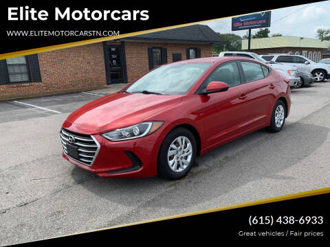 2017 Hyundai Elantra for sale at Elite Motorcars in Smyrna TN