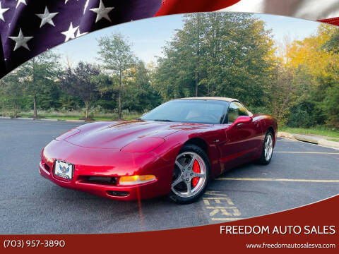 2004 Chevrolet Corvette for sale at Freedom Auto Sales in Chantilly VA
