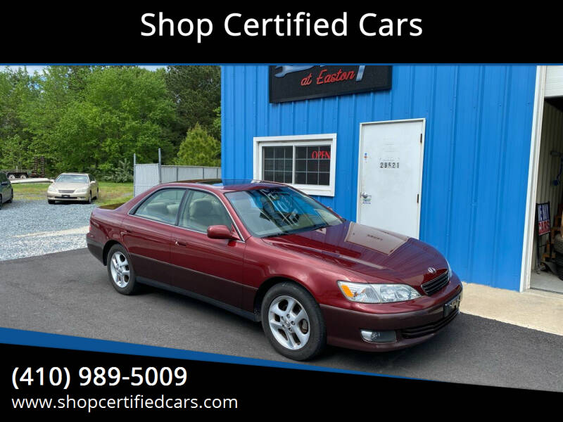 2001 Lexus ES 300 for sale at Shop Certified Cars in Easton MD