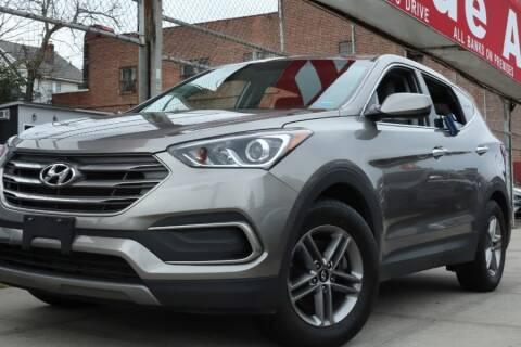 2018 Hyundai Santa Fe Sport for sale at HILLSIDE AUTO MALL INC in Jamaica NY
