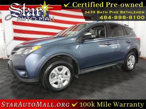 2014 Toyota RAV4 for sale at STAR AUTO MALL 512 in Bethlehem PA