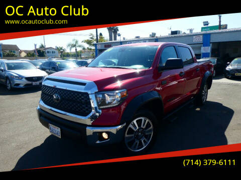 2020 Toyota Tundra for sale at OC Auto Club in Midway City CA