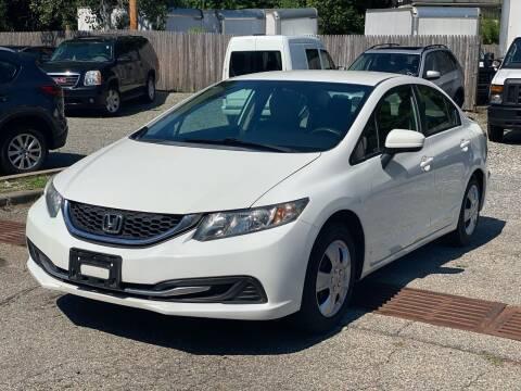2014 Honda Civic for sale at AMA Auto Sales LLC in Ringwood NJ