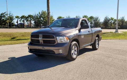 2018 RAM Ram Pickup 1500 for sale at FLORIDA USED CARS INC in Fort Myers FL