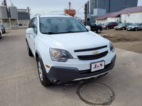 2015 Chevrolet Captiva Sport for sale at J & S Auto Sales in Thompson ND