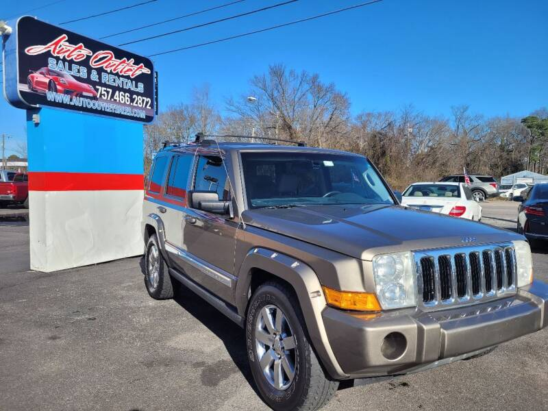 2006 Jeep Commander for sale at Auto Outlet Sales and Rentals in Norfolk VA