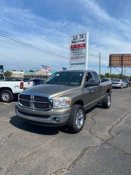 2008 Dodge Ram Pickup 1500 for sale at US 24 Auto Group in Redford MI