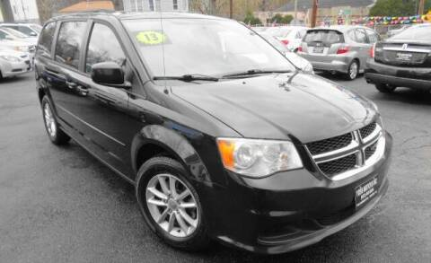 2013 Dodge Grand Caravan for sale at Yosh Motors in Newark NJ
