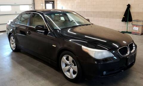 2004 BMW 5 Series for sale at Angelo's Auto Sales in Lowellville OH