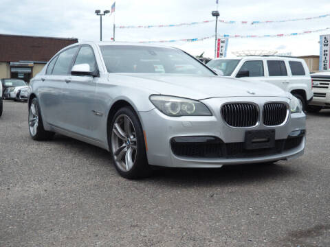 2012 BMW 7 Series for sale at Sunrise Used Cars INC in Lindenhurst NY