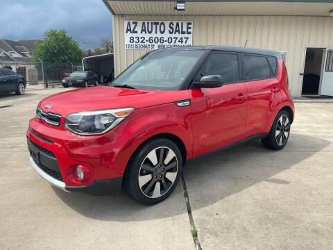 2017 Kia Soul for sale at AZ Auto Sale in Houston TX
