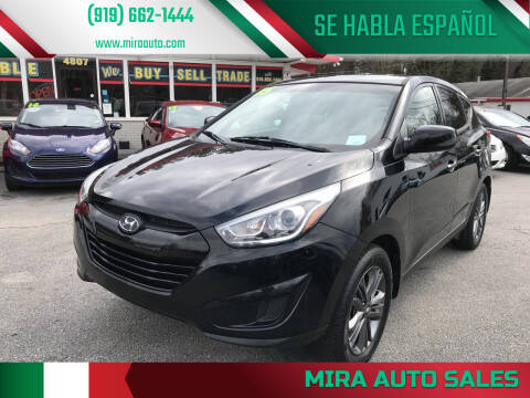 2015 Hyundai Tucson for sale at Mira Auto Sales in Raleigh NC