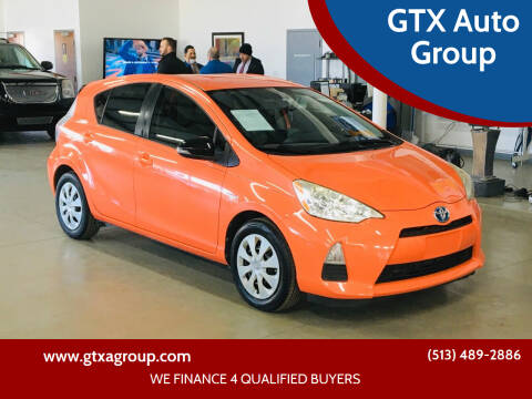 2012 Toyota Prius c for sale at GTX Auto Group in West Chester OH