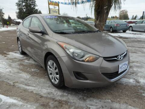 2011 Hyundai Elantra for sale at VALLEY MOTORS in Kalispell MT