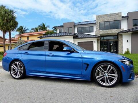 2018 BMW 4 Series for sale at Lifetime Automotive Group in Pompano Beach FL