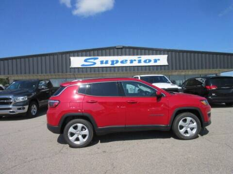 2021 Jeep Compass for sale at SUPERIOR CHRYSLER DODGE JEEP RAM FIAT in Henderson NC