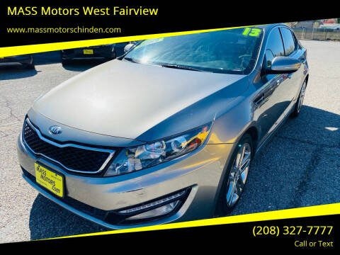 2013 Kia Optima for sale at M.A.S.S. Motors - West Fairview in Boise ID
