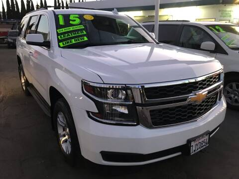 2015 Chevrolet Tahoe for sale at CAR GENERATION CENTER, INC. in Los Angeles CA
