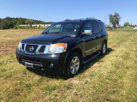2010 Nissan Armada for sale at Unique Auto Sales in Knoxville TN