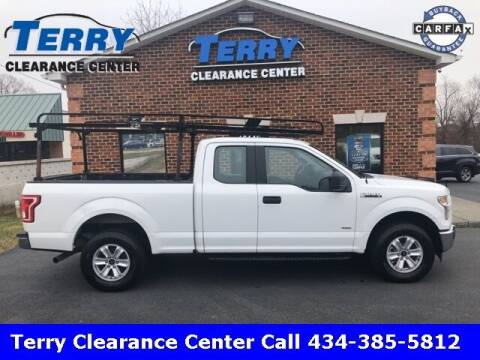 2017 Ford F-150 for sale at Terry Clearance Center in Lynchburg VA