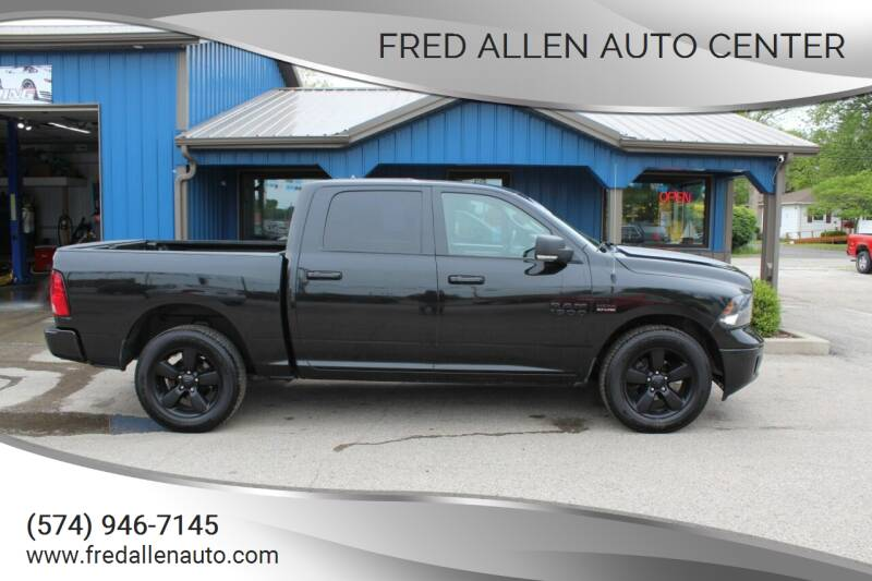 2018 RAM Ram Pickup 1500 for sale at Fred Allen Auto Center in Winamac IN