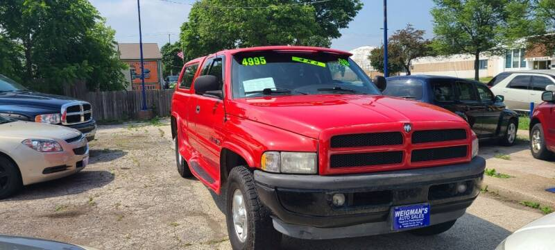 1998 Dodge Ram Pickup 1500 for sale at Weigman's Auto Sales in Milwaukee WI