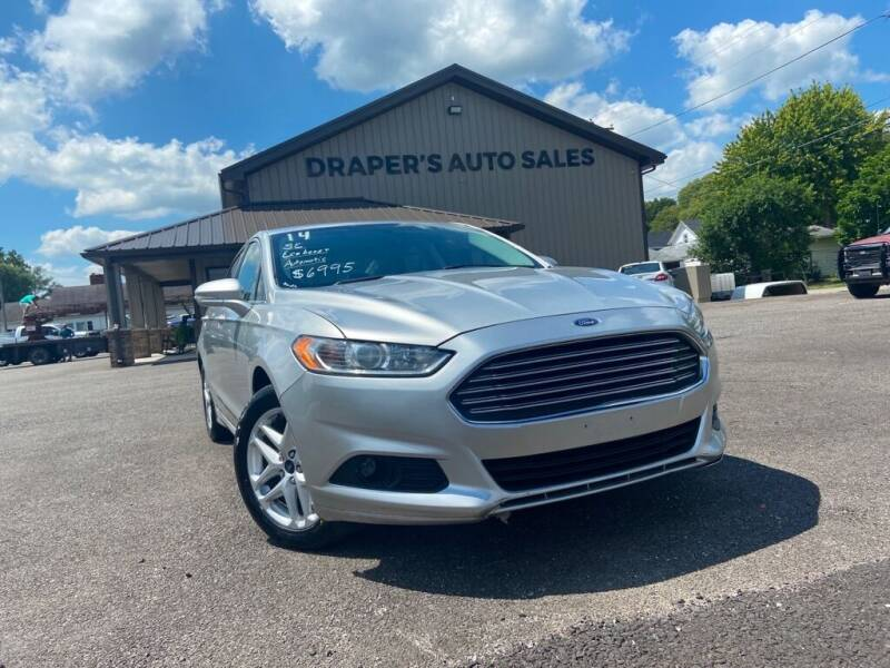 2014 Ford Fusion for sale at Drapers Auto Sales in Peru IN