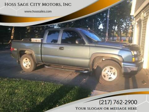2006 Chevrolet Silverado 1500 for sale at Hoss Sage City Motors, Inc in Monticello IL