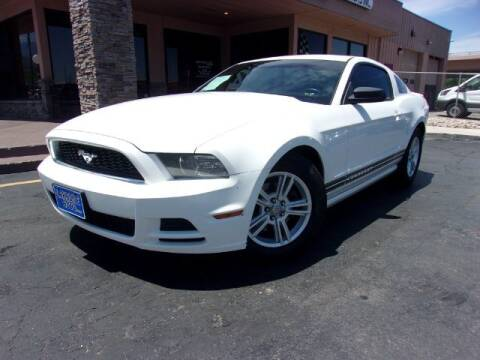 2013 Ford Mustang for sale at Lakeside Auto Brokers Inc. in Colorado Springs CO