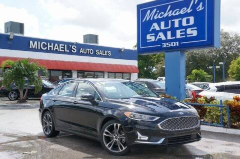 2019 Ford Fusion for sale at Michael's Auto Sales Corp in Hollywood FL