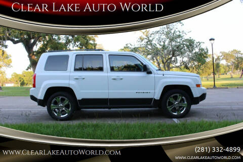 2016 Jeep Patriot for sale at Clear Lake Auto World in League City TX