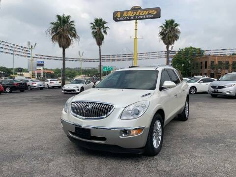 2011 Buick Enclave for sale at A MOTORS SALES AND FINANCE in San Antonio TX