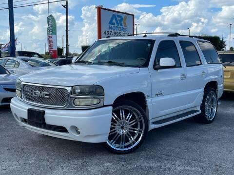 2005 GMC Yukon for sale at Ark Motors LLC in Orlando FL