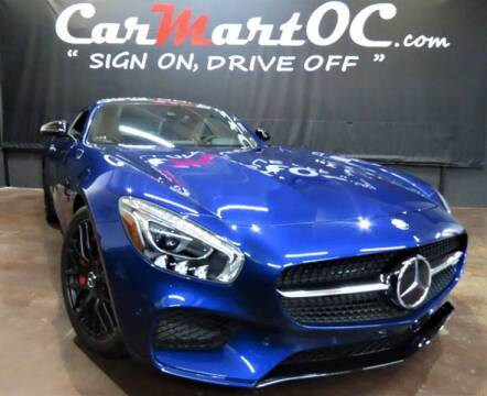 2017 Mercedes-Benz AMG GT for sale at CarMart OC in Costa Mesa, Orange County CA