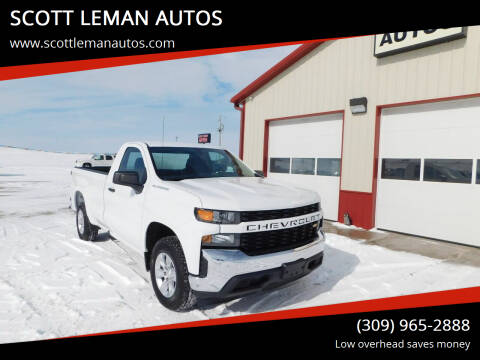 2019 Chevrolet Silverado 1500 for sale at SCOTT LEMAN AUTOS in Goodfield IL