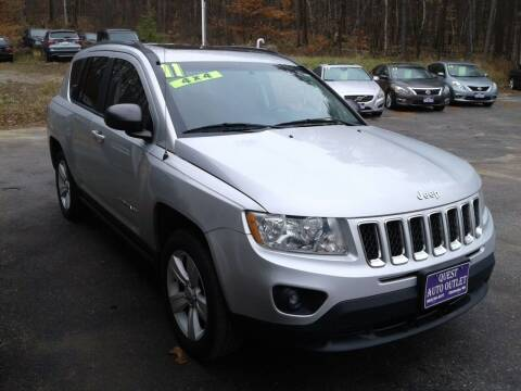 2011 Jeep Compass for sale at Quest Auto Outlet in Chichester NH