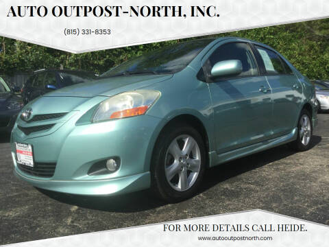 2008 Toyota Yaris for sale at Auto Outpost-North, Inc. in McHenry IL