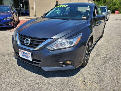 2018 Nissan Altima for sale at Auto Wholesalers Of Hooksett in Hooksett NH