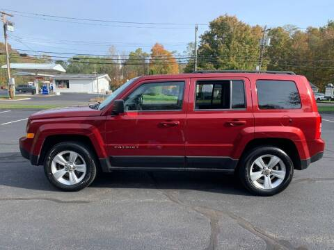2012 Jeep Patriot for sale at Volpe Preowned in North Branford CT