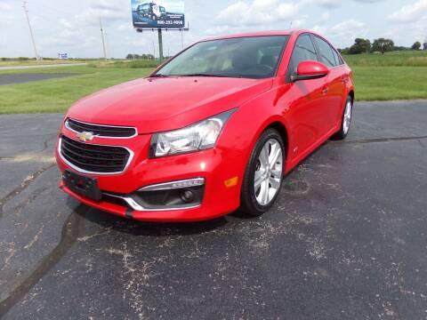 2015 Chevrolet Cruze for sale at Westpark Auto in Lagrange IN