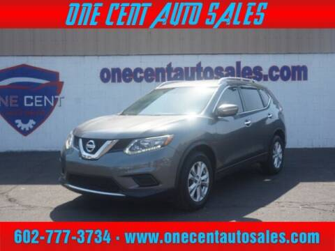 2015 Nissan Rogue for sale at One Cent Auto Sales in Glendale AZ