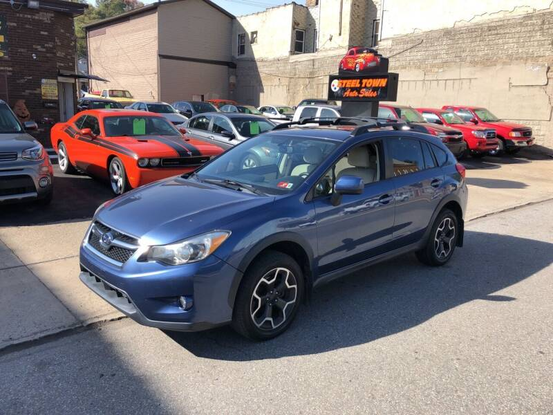 2013 Subaru XV Crosstrek for sale at STEEL TOWN PRE OWNED AUTO SALES in Weirton WV
